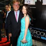 Aaron Sorkin and Kristin Davis at the LA premiere of The Newsroom 118289