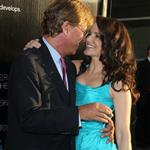 Aaron Sorkin and Kristin Davis at the LA premiere of The Newsroom 118299