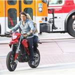 Tom Cruise and Cameron Diaz shoot Knight and Day ESPN commercial  63182