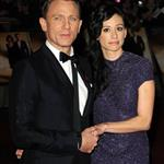 Daniel Craig and Satsuki Mitchell at the London premiere of Bond Quantum of Solace  26722