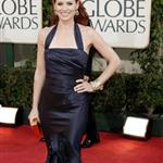Debra Messing at the 2009 Golden Globe Awards 30499