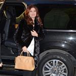 Debra messing enters the Today Show studios 105010