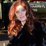 Debra messing enters the Today Show studios 105015