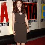 Debra Messing at the Broadway opening night of Evita  110886
