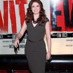 Debra Messing at the Broadway opening night of Evita  110887