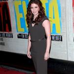 Debra Messing at the Broadway opening night of Evita  110890