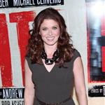 Debra Messing at the Broadway opening night of Evita  110891