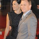 Daniel Craig and Satsuki Mitchell at London premiere of Defiance 30195