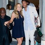 Mariah Carey and Nick Cannon at Project Canvas Art Gala in New York City 114464