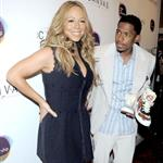Mariah Carey and Nick Cannon at Project Canvas Art Gala in New York City 114467