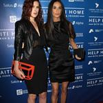Rumer Willis and Demi Moore at the Cinema For Peace Event Benefitting J/P Haitian Relief in Beverly Hills 103248