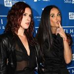 Rumer Willis and Demi Moore at the Cinema For Peace Event Benefitting J/P Haitian Relief in Beverly Hills 103251
