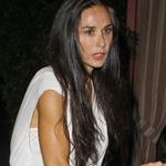 Demi Moore arrives for dinner at the Sunset Towers in Hollywood 126919
