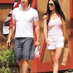 Martin Henderson and Demi Moore in Life & Style 121606