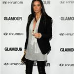 Demi Moore looks skinny at Glamour Reel Moments event October 2010  71637