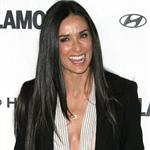 Demi Moore looks skinny at Glamour Reel Moments event October 2010  71640