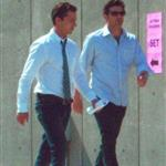 Patrick Dempsey and Shia LaBeouf work on Transformers 3 in Chicago  66421