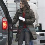 Kat Dennings shoots Daydream Nation with Josh Lucas in Vancouver   54101