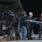 Kat Dennings shoots Daydream Nation with Josh Lucas in Vancouver   54124