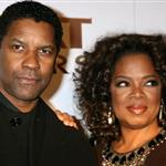 Denzel Washington and Oprah at the premiere of The Great Debaters 15492