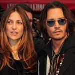 Johnny Depp with his publicist Robin Baum at the Dark Shadows UK film premiere in London 118377