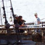 Johnny Depp Penelope Cruz film Pirates 4 in Hawaii July 2010  66086