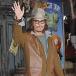 Johnny Depp at Rango LA premiere  79196