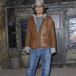 Johnny Depp at Rango LA premiere  79200