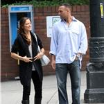 Minka Kelly and Derek Jeter in Seattle August 2009 92780