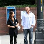 Minka Kelly and Derek Jeter in Seattle August 2009 92783