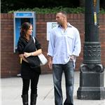 Minka Kelly and Derek Jeter in Seattle August 2009 92784