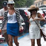 Channing Tatum, Jenna Dewan and Stacy Keibler seen in Cernobbio, Lake Como 120631