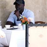 Djimon Hounsou lowers himself by dating Kimora Lee 19755
