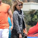 Dianna Agron at Joel Silver's Memorial Day party in Malibu 115834
