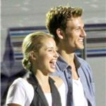 Dianna Agron with new boyfriend who looks like Alex Pettyfer on Glee set 67587