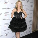 Dianna Agron overdressed at Audi party with Anna Paquin 53199