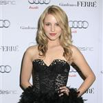 Dianna Agron overdressed at Audi party with Anna Paquin 53201