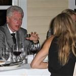 Cameron Diaz and Alex Rodriguez have dinner with Bill Clinton 77334