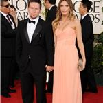 Mark Wahlberg and Rhea Durham at Golden Globes 2011 76826