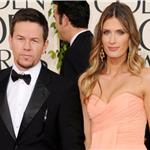 Mark Wahlberg and Rhea Durham at Golden Globes 2011 76827