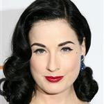 Dita von Teese hooks up with A.J. McLean 17336