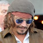 Johnny Depp and Vanessa Paradis take their kids to Miami Dolphins game  75355
