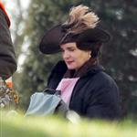 Downton Abbey shooting a wedding scene  108282