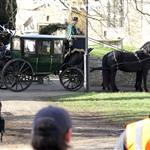 Downton Abbey shooting a wedding scene  108310