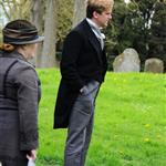 Filming of 'Downton Abbey' Series 3 in Bampton, Oxfordshire 112624