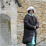 Filming of 'Downton Abbey' Series 3 in Bampton, Oxfordshire 112625