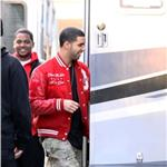 Drake shoots movie cameo in Toronto for Breakaway  71199