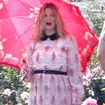 Drew Barrymore at a photo shoot at The Huntington Library  113080