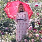 Drew Barrymore at a photo shoot at The Huntington Library  113085