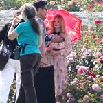 Drew Barrymore at a photo shoot at The Huntington Library  113088